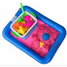 Hình ảnh Bộ khuôn cát nặn vi sinh cho bé thỏa sức sáng tạo