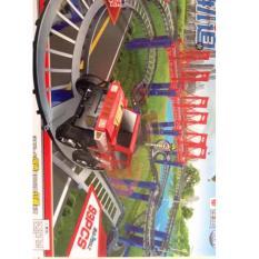Hình ảnh Bộ lắp ráp đường đua ô tô 93 chi tiết (Nhiều màu)