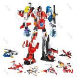 Bán Bộ Lắp Rap Robot Biến Hinh 6In1 Destroyer 1405 Gồm 6 Mo Hinh Nhỏ Ghep Thanh 1 Robot Đồ Chơi Cao Cấp Poki