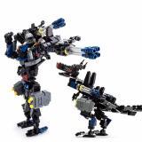 Bán Bộ Lắp Rap Robot Biến Hinh Transformers Gudi Megatron Black Popo Trực Tuyến Trong Hà Nội