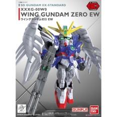 Giá Bán Bộ Lắp Rap Sd Gundam Ex Standard 004 Wing Gundam Zero Ew Bandai 0202754 Trực Tuyến