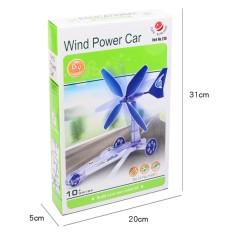 Hình ảnh Bộ lắp ráp wind power car chạy bằng sức gió cho bé chơi mà học