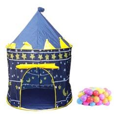 Hình ảnh Bộ lều bóng hình lâu đài kèm 50 quả bóng nhựa phi 8