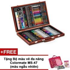Hình ảnh Bộ màu vẽ đa năng Colormate MS-110W + Tặng bộ màu vẽ Colormate MS-47