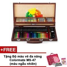 Hình ảnh Bộ màu vẽ đa năng Colormate MS-111W + Tặng bộ màu vẽ Colormate MS-47(Màu ngẫu nhiên)