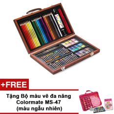 Hình ảnh Bộ màu vẽ đa năng Colormate MS-93W + Tặng bộ màu vẽ Colormate MS-47