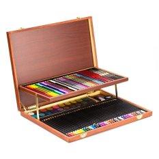 Hình ảnh Bộ màu vẽ đa năng hộp gỗ Colormate MS-92W