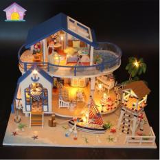 Hình ảnh Bộ mô hình lắp ghép DIY - Biệt Thự Bãi Biển