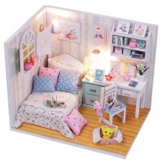 Hình ảnh Bộ mô hình lắp ghép DIY - Căn phòng bé gái M013
