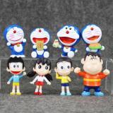 Mua Bộ Mo Hinh Nhan Vật Đồ Chơi Doremon Nobita Va Những Người Bạn Mới