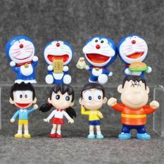 Chiết Khấu Sản Phẩm Bộ Mo Hinh Nhan Vật Đồ Chơi Doremon Nobita Va Những Người Bạn