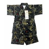 Giá Bán Bộ Quần Ao Yukata Kimono Họa Tiết Rồng Mau Đen 11 15Kg Viet Source Nguyên