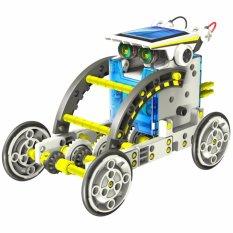 Bán Mua Bộ Robot Lắp Ghep Năng Lượng Mặt Trời 14 Mo Hinh Trong 1 Sản Phẩm 14 In 1 Educational Solar Robot Kit Mới Vietnam