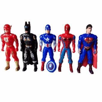 Bộ sưu tập 5 siêu anh hùng