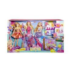 Hình ảnh Bộ Sưu Tập Búp Bê Barbie Thời Trang Thế Giới Thần Tiên CHT58