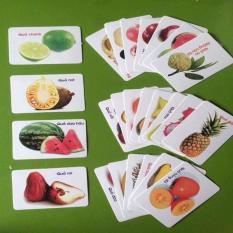 Hình ảnh Bộ thẻ học song ngữ thông minh 16 chủ đề-416 thẻ