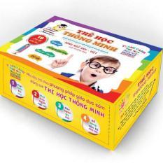 Hình ảnh Bộ thẻ học thông minh 16 chủ đề - 416 thẻ song ngữ - thẻ học song ngữ cho bé