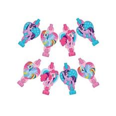 Hình ảnh Bộ Thổi Blowout Chủ Đề Ngựa Hồng Pony (8 cái)