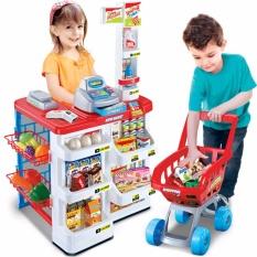 Hình ảnh Bộ thu ngân xe đẩy siêu thị ( sản phẩm y hình)- nhựa an toàn cho bé
