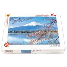 Hình ảnh Bộ tranh xếp hình jigsaw puzzle 2035 mảnh - Núi Phú Sĩ