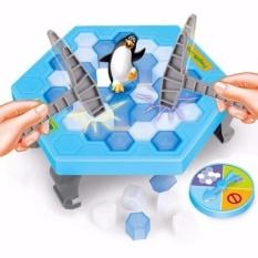 Hình ảnh Bộ trò chơi bẫy chim cánh cụt - phá băng(Xanh dương nhạt)