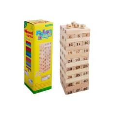 Hình ảnh Bộ Trò Chơi Rút Gỗ 48 Thanh Wood Toy Loại Lớn