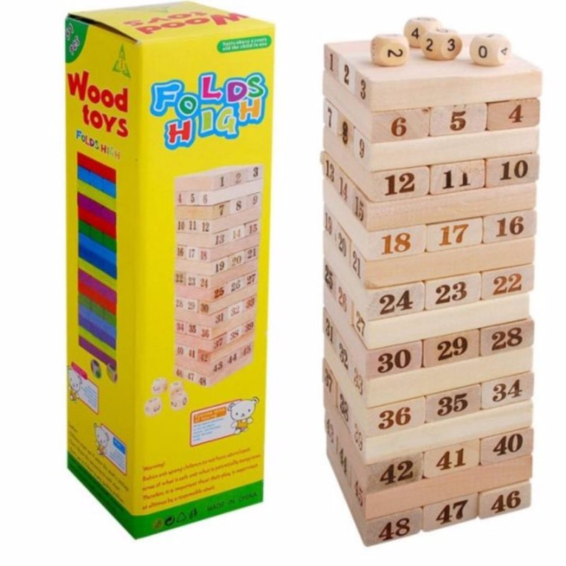 Bộ trò chơi rút gỗ WOOD TOYS loại lớn