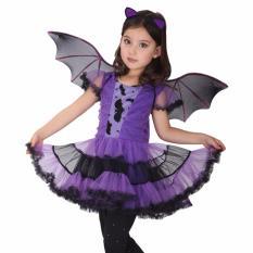 Hình ảnh Bộ váy áo cánh dơi hóa trang Halloween cho bé