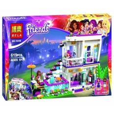 Bộ xếp hình Bela Friends - Biệt thự của ngôi sao nhạc Pop Livi