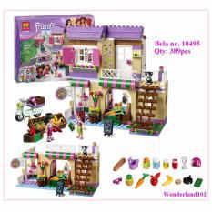 Bộ xếp hình Bela Friends - Cửa hàng thực phẩm Heartlake 10495