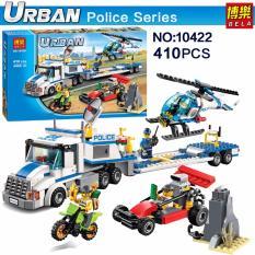 Hình ảnh Bộ xếp hình City Police - Xe lưu động cảnh sát chở trực thăng giám sát