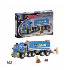 Hình ảnh Bộ xếp hình ô tô tải Kazi 163 chi tiết