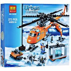 Hình ảnh Bộ xếp hình Urban - Máy bay thám hiểm vùng bắc cực