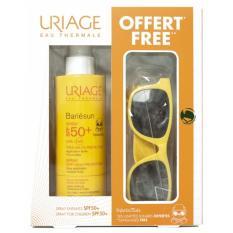 Bộ Xịt chống nắng Uriage Bariésun SPF 50+ (200ml) và kính mắt xinh xắn cho bé - Hàng Pháp