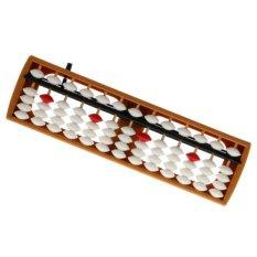 Hình ảnh Đồ chơi giáo dục BolehDeals bàn tính Bàn Tính 13 thành-Màu trắng-intl
