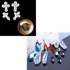 Hình ảnh BolehDeals 8 cái Hỗn Hợp Dẻo Silicone TỰ LÀM Khuôn Nhựa Trang Sức Làm Thủ Công Khuôn Mẫu Công Cụ-quốc tế