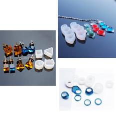 Hình ảnh BolehDeals 8 Pieces Mixed Silicone DIY Ring Molds Resin Jewelry Making Craft Mould Tool - intl