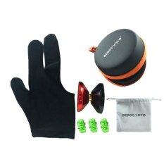 Hình ảnh BolehDeals Beboo Yo Yo A6 PRO Aluminium Alloy Magic Yo Yo w/ Case Glove Set Kids Gifts - intl
