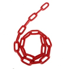 Hình ảnh BolehDeals Durable Plastic Coated Iron Swing Chain 1.5 M Length Red - intl