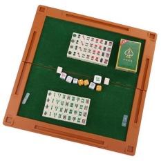 Hình ảnh BolehDeals Mini 144 Ốp Trung Quốc Mạt Chược Mahjongg Du Lịch Bộ Trò Chơi Toàn Bộ Gia Đình Vui Nhộn-quốc tế