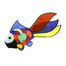 Hình ảnh BolehDeals Rainbow Fish Kite Windsock Outdoor Garden Decor Kids Line Laundry Kids Toys - intl