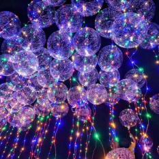 Hình ảnh Bóng bay đèn led nhiều màu sắc 3m dùng pin