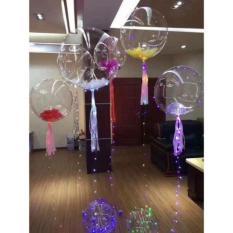 Hình ảnh Bóng bay đèn led nhấp nháy galaxy trang trí tiệc, lễ cưới, nhà hàng - Kmart
