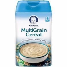 Cửa Hàng Bột Ăn Dặm Gerber Baby Cereal Multigrain 227G Rẻ Nhất