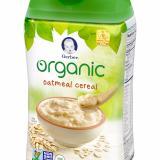 Chiết Khấu Bột Ăn Dặm Gerber Organic Vị Gạo Hộp 227G Cho Be Từ 6 Thang
