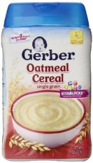 Giá Bán Rẻ Nhất Bột Ăn Dặm Yến Mạch Gerber Cereal 227 Gr