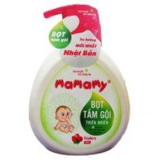 Bọt tắm gội Mamamy hương Raspberry 400ml