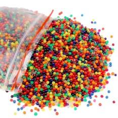 Hình ảnh Số lượng lớn 6000 hạt 100 gam Hỗn Hợp Hạt Nước Nước Phát Triển Bóng Cho Bình Chất Độn Cưới Trang Trí Nhà Thực Vật Trẻ Em nhận Biết màu sắc-quốc tế