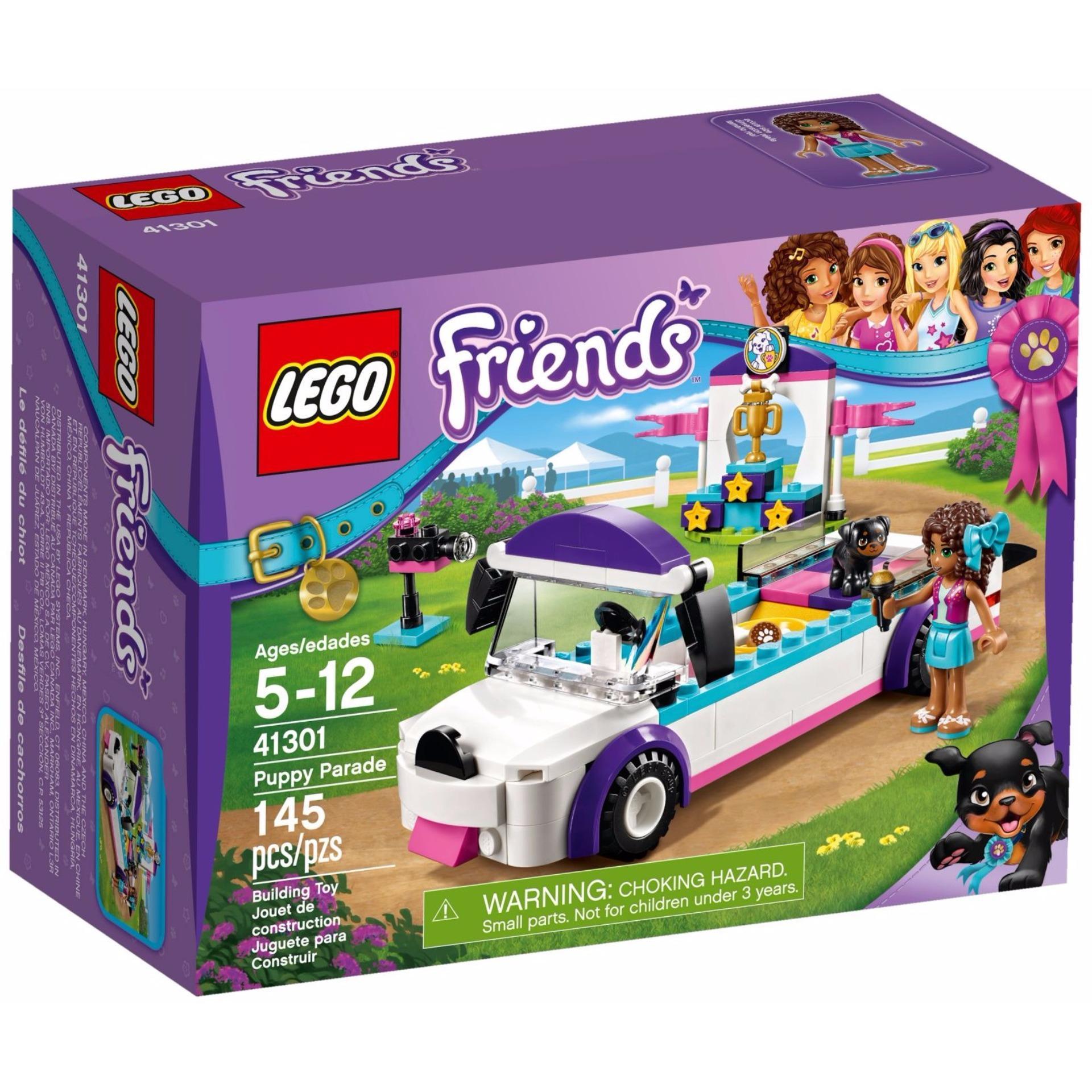 Buổi Diễu Hành Cún Cưng Lego Friends