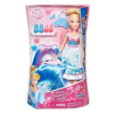 Búp Bê Công Chúa \bLọ Lem Thời Trang Disney Princess Layer 'N Style Cinderella (Mỹ) Siêu Khuyến Mãi